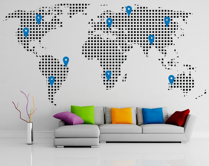 cool wall stickers home office wall. wall decal vinyl sticker home decor modern art mural cool stickers office r
