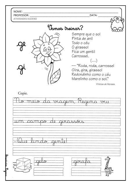 Silabas Complexas Caligrafia Texto En Cursiva Caligrafia Letra