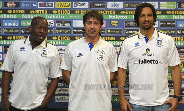 Parma FC European Cup Winners' Cup 20th Anniversary Errea Jersey