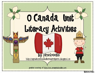 O Canada Unit Literacy Activities
