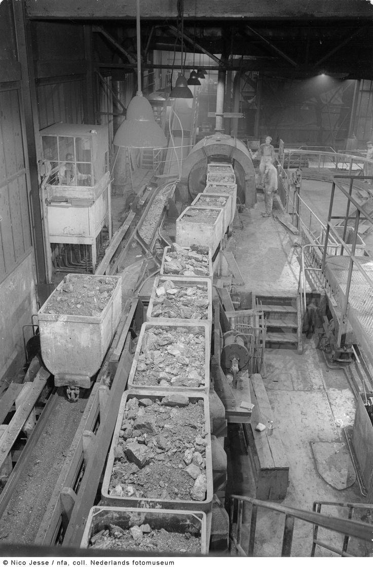Bovengrondse laad- en losplaats, Oranje Nassau Mijnen, Heerlen (1952-1953)