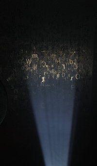 """typo installation """"Gwar chmar"""" by Aleksandra Toborowicz #typo #installation #letter #litera #typografia #liternictwo #toborowicz #instalacja #art #newmedia"""