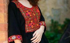 Awesome Black Balochi Dress Dp for Girls Fb