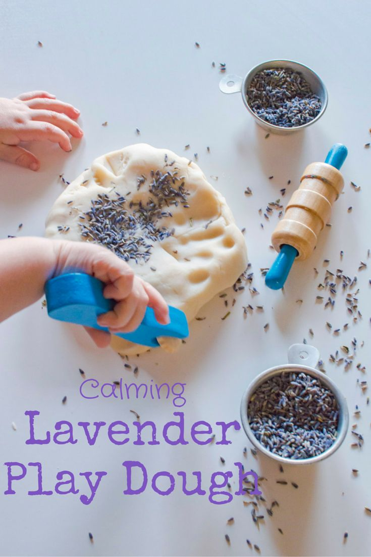 Homemade Calming Lavender Play Dough — The Natural Nurturer