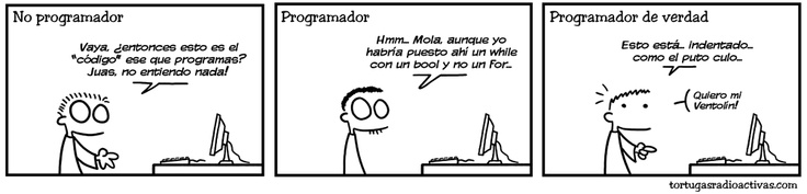 ¿eres un programador de verdad?