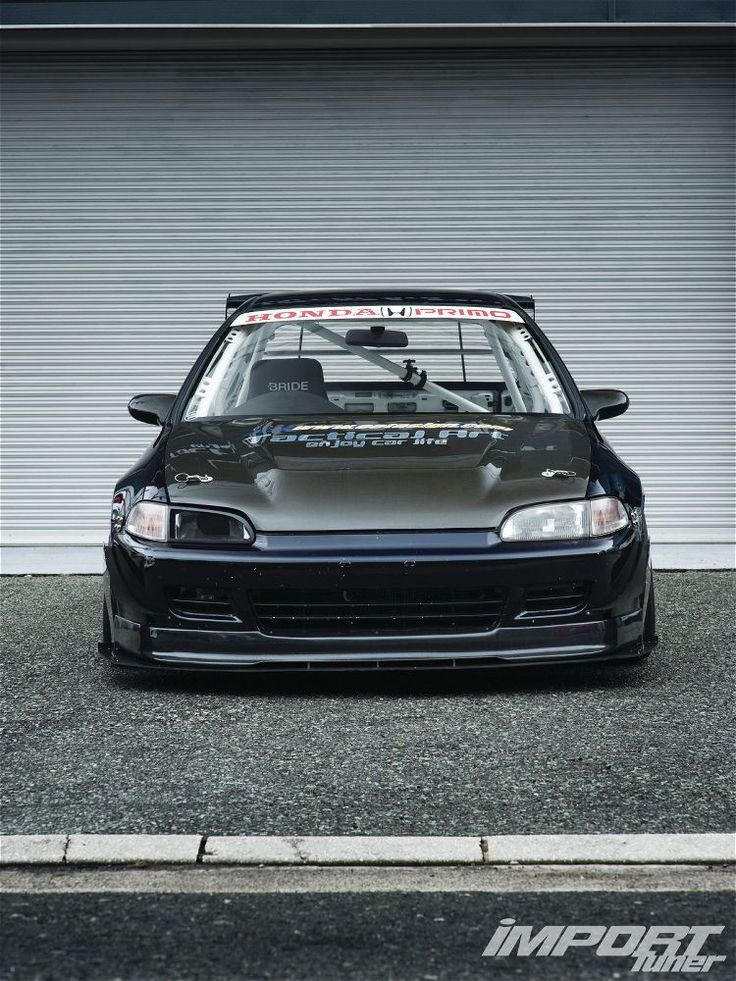 1992 Honda Civic EG - Art of Speed via ImportTuner.com #Honda #HondaCivic #HondaCars