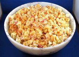 Macaroni Salad (5 Points+)Amazing Recipe, Food Food, Weights Watchers Recipe, Lose Weights, Macaroni Salads, Easy Weights, Crabs Meat Pasta Salad, Macaroni Salad With Crabs Meat, Watchers Macaroni