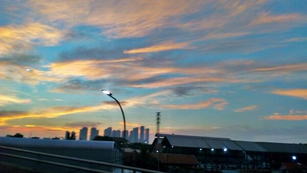 Ray of Sunset at Jakarta - 130317