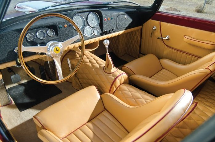ferrari car interior oldschool fancy old sport power vintage classic behind the wheel. Black Bedroom Furniture Sets. Home Design Ideas