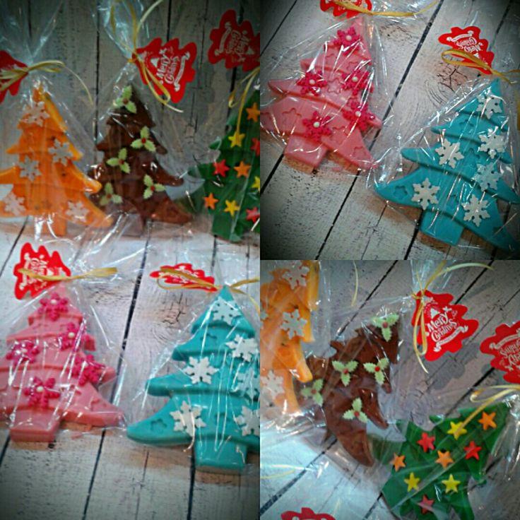 Chocolate trees xmas