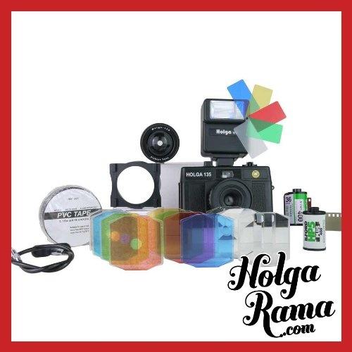 Holga Camera 135 (35mm/Plastic Lens) Ultimate Kit
