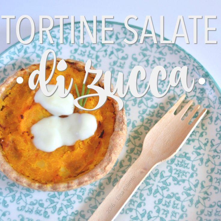 Tortine salate di zucca: la ricetta facile con zucca, patate e crescenza. Facili e veloci da preparare.