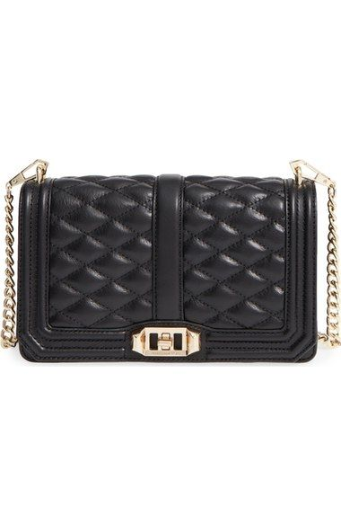 Rebecca Minkoff 'Love' Crossbody Bag available at #Nordstrom - either black or gold hardware