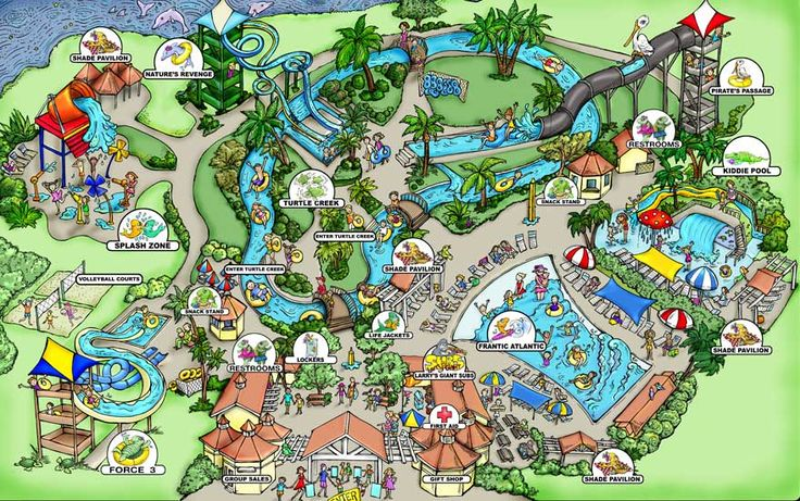 Take the family to cool off at Jekyll Island's water park. Fun kiddie pool, adventurous 40-foot tall twisting slide, relaxed tubing down the stream & more.