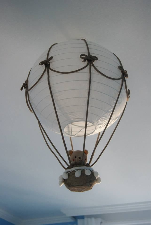 Luminaire montgolfière by me!!