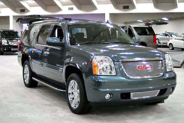 GMC Yukon XL Denali..this is the color my husband wants!! Love