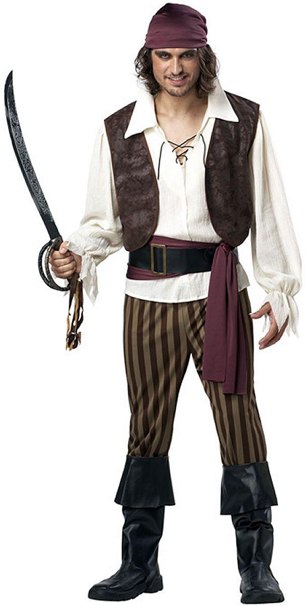 rogue mens pirate costume