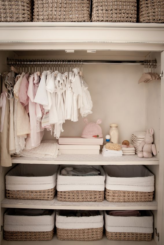 Adorable Closet for a Baby & their Nursery