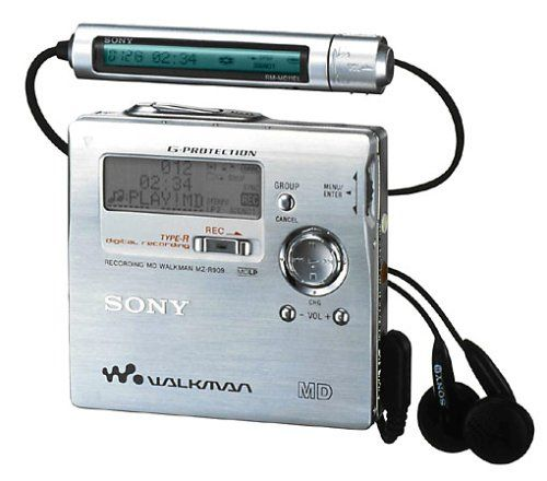 Sony Mz R909 Minidisc Player/recorder Rare Retro Collectors Item