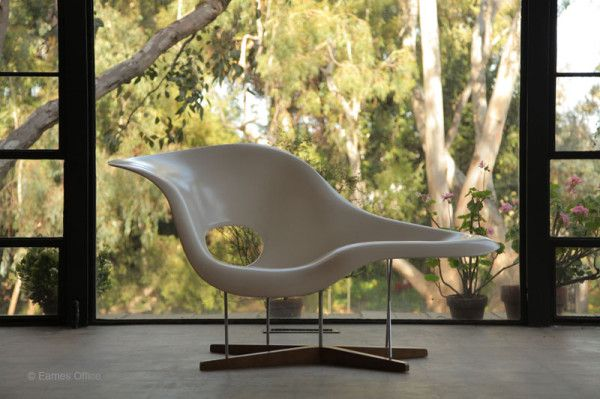 Iconic Designs: La Chaise Chair by Eames Office