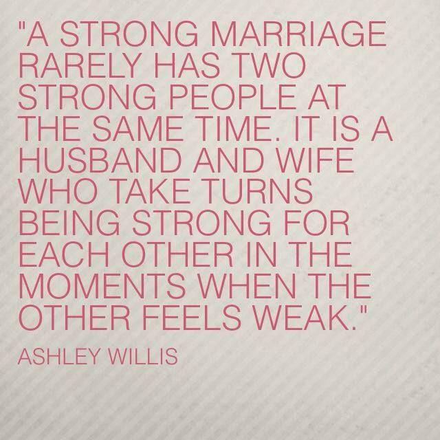 Ashley Willis Marriage Quote