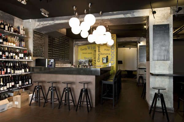 Wine Bars, Rustic Feel And Industrial