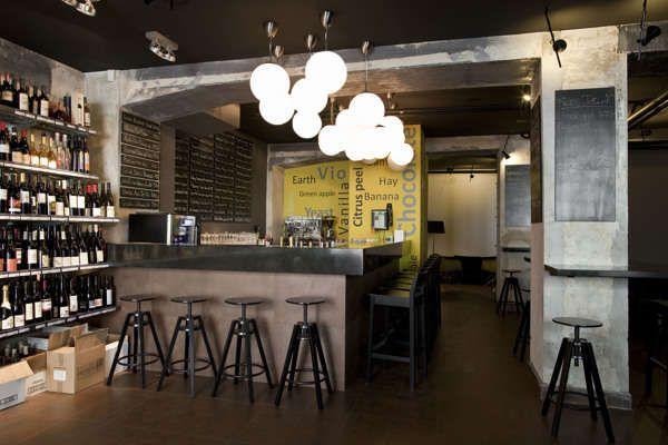 Industrial Wine Bars Wine Bars Rustic Feel And Industrial