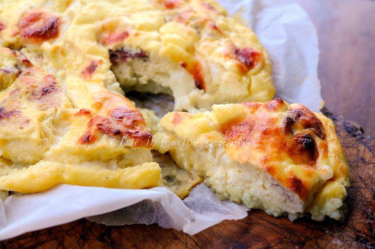 Cheesecake di patate con formaggio e prosciutto | Arte in Cucina