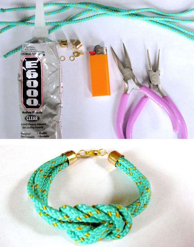Cord Bracelets | 50 Tiny And Adorable DIY Stocking Stuffers