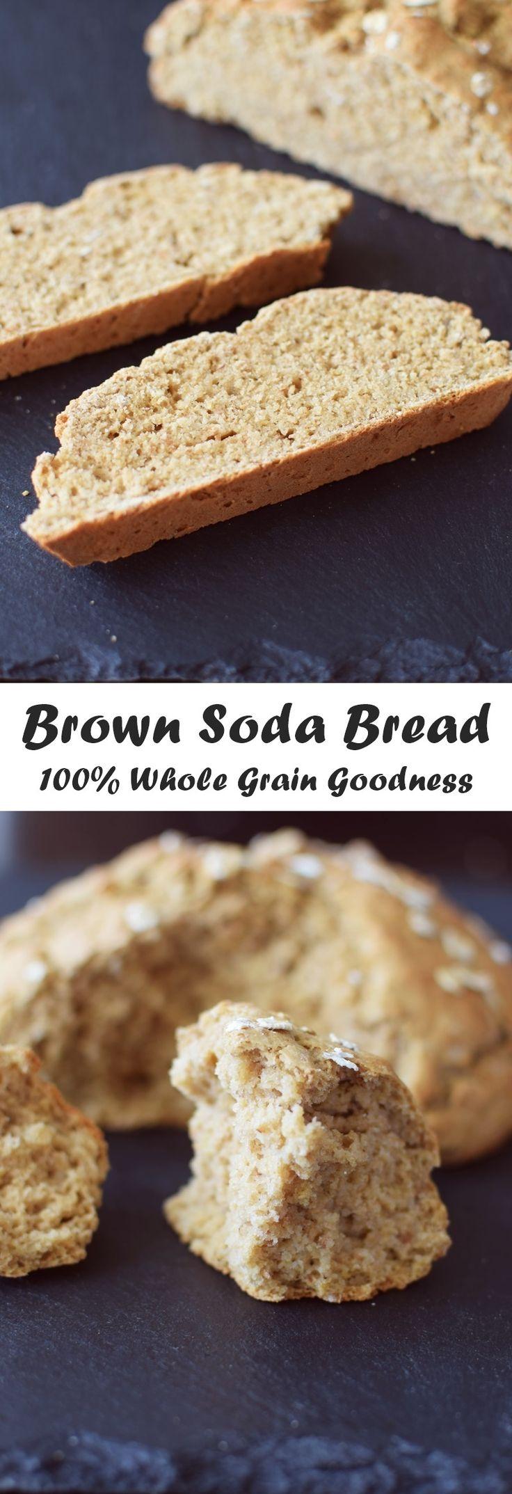 Wholesome Irish Brown Soda Bread Recipe Soda bread