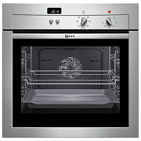 Buy Neff B14M42N3GB Single Electric Oven, Stainless Steel Online at johnlewis.com