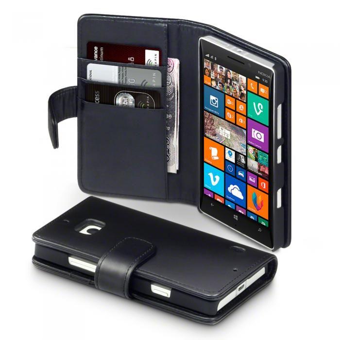 Läderfodral till Nokia Lumia 930. Köp snygga fodral idag via länken: http://www.phonelife.se/mobilfodral