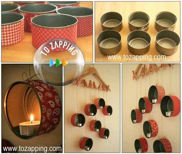Manualidades reciclaje de decoraci n queremos daros la - Reciclaje manualidades decoracion ...