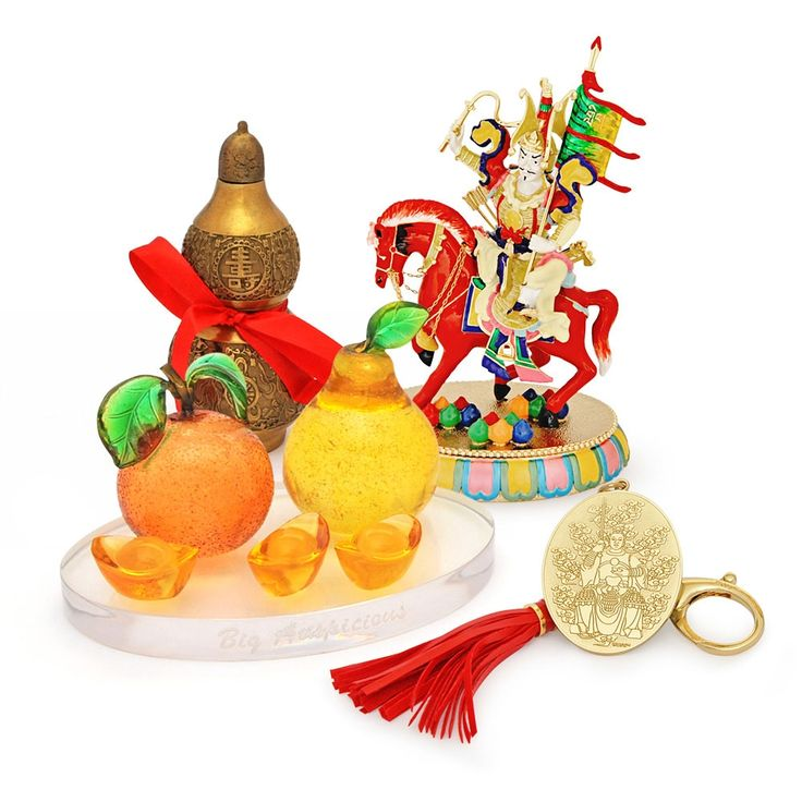 2015 HOROSCOPE KIT FOR DRAGON  This kit includes:  Wu Lou with 8 Auspicious Objects Bejeweled King Gesar Tai Kat Tai Lei - Big Auspicious Tai Sui Amulet for 2015 FREE Jade Cicada