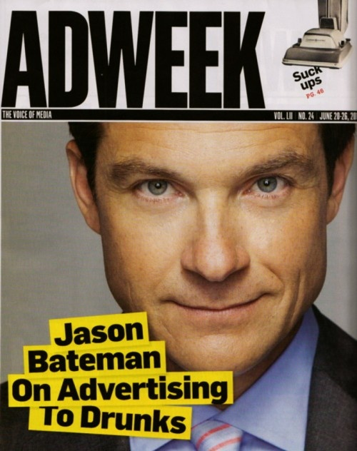One of my favorite actors and favorite trade magazines. Great font, and powerfully fun statement.