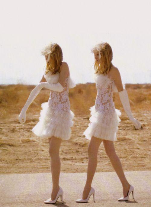 Bridesmaids: Lace, Vegas Wedding, Fashion, Inspiration, Style, Wedding Dresses, Wedding Ideas, White Bridesmaid Dresses, Weddingideas