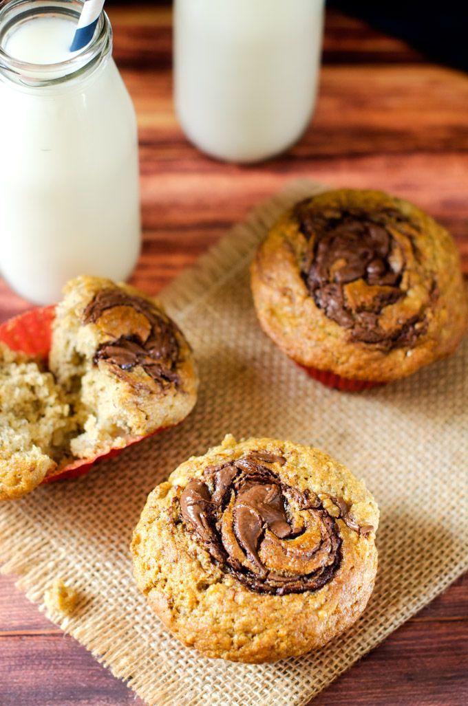 Chocolate Hazelnut Quinoa Muffins - Cooking Quinoa