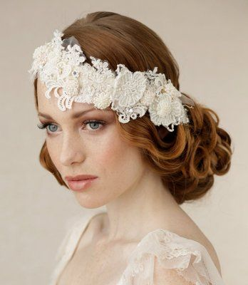 Flapper Hairstyles for Long Hair 1920s Wedding hairstyle Yelp ...