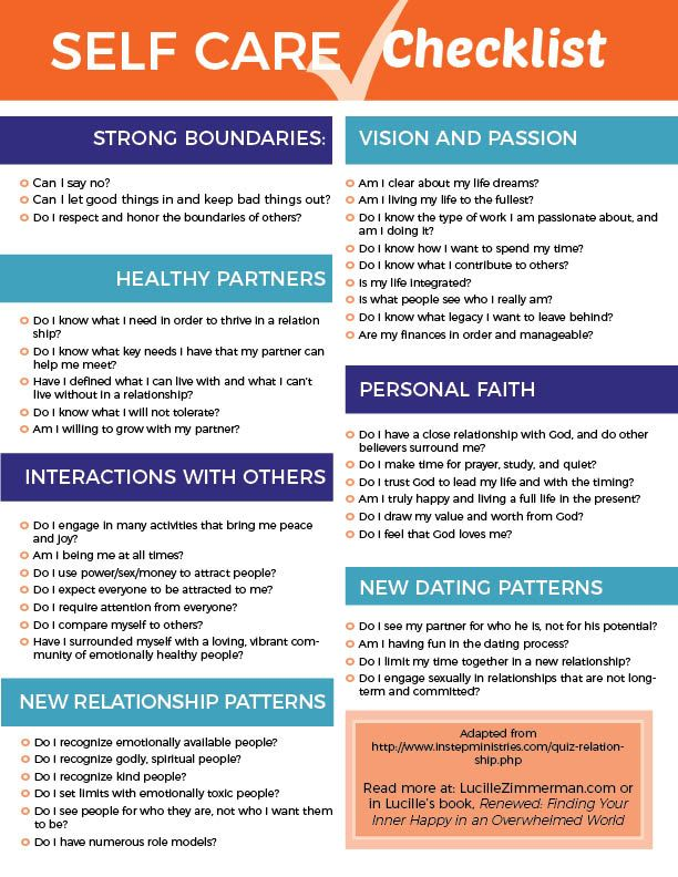 Self care checklist #selfcare strong boundaries, healthy partners, healthy relationships, vision, passion, dating patterns, relationship patterns, interaction with others, personal faith, vision.