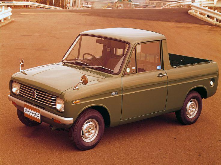 1968 Mazda Porter track