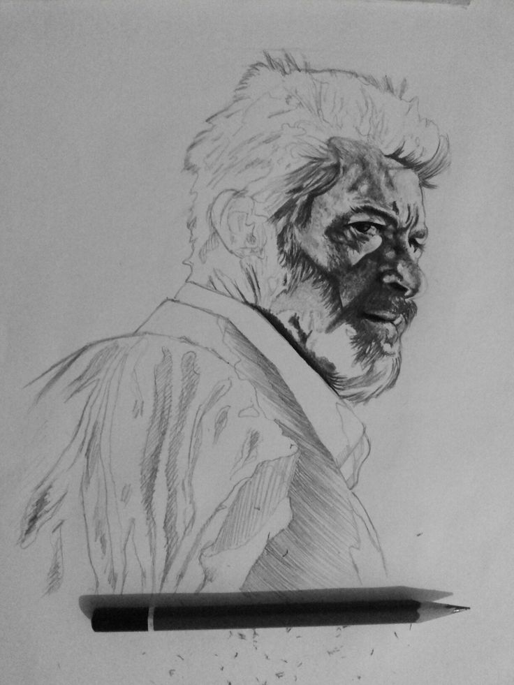 Logan in progress  #Logan #sketch