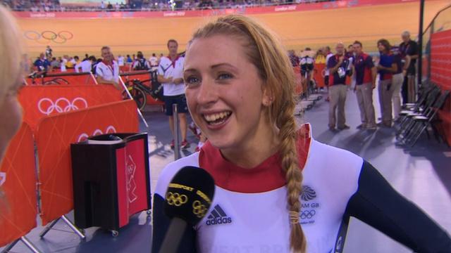 BBC Sport - Olympics cycling: Laura Trott wins omnium gold medal