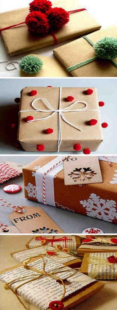 Preparar los regalos con todo nuestra amor es más importante y tiene gran valor. #regalo #navidad #envolver