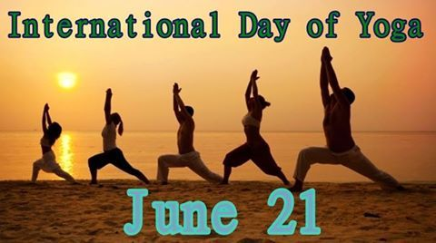 You Cannot Always Control What Goes On Outside. But You Can Always Control What Goes On Inside. Happy International Yoga Day! #yogaday #internationalyogaday