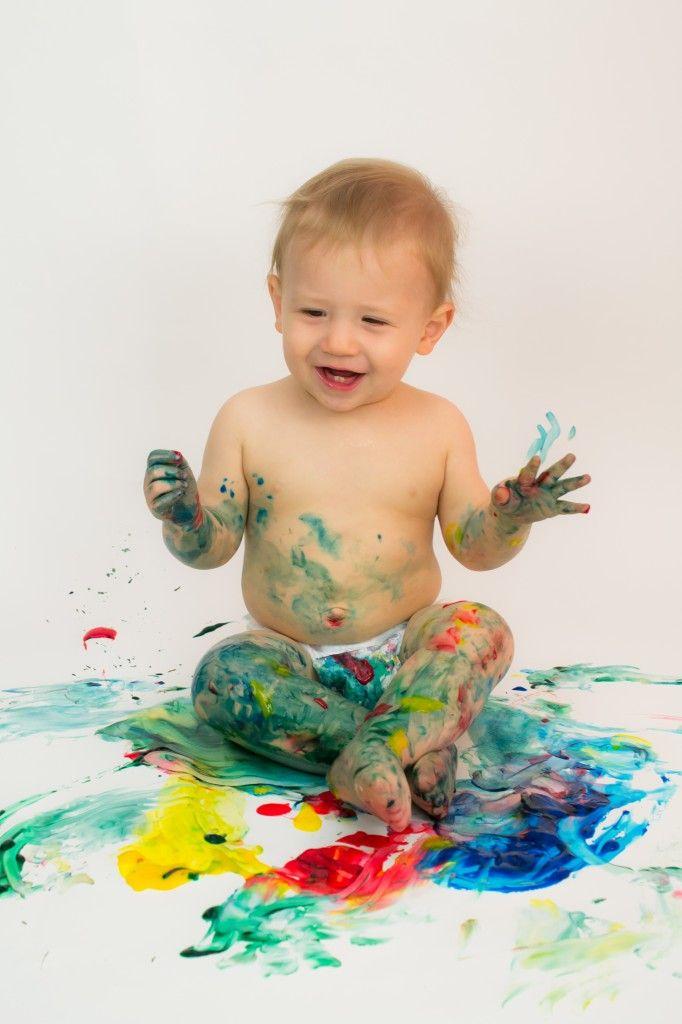 Toddler finger paint photo shoot photography pinterest for Paint photo shoot ideas
