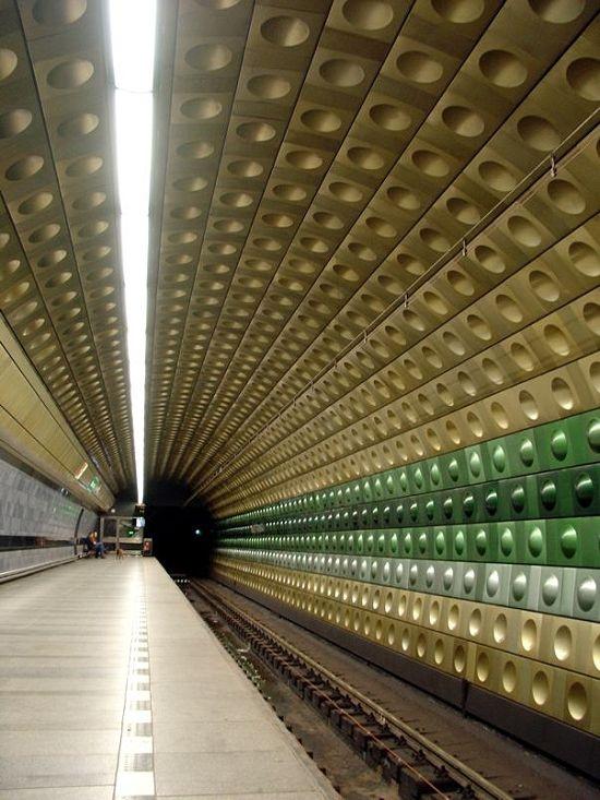 Metro in Prag