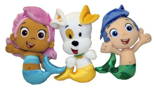 Bubble Guppies Plush Bundle by Nickelodeon Universe, http://www.amazon.com/dp/B00D46AACA/ref=cm_sw_r_pi_dp_KS8Bsb11TCPWH