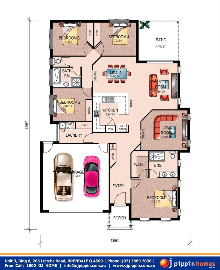 Crest 220 - Floor plan