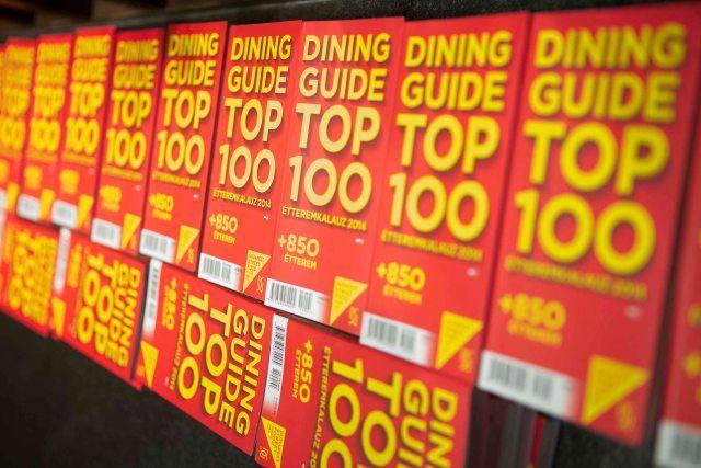 TOP 100     A megújult Dining Guide tegnap mutatta be hazánk legjobb száz éttermét bemutató étteremkalauzát. A kiadvány ezúttal kibővült egy további 850 helyet listázó melléklettel:kiderül, melyik a legjobb kínai étterem, hol csodás a görög gyros vagy a pho leves...