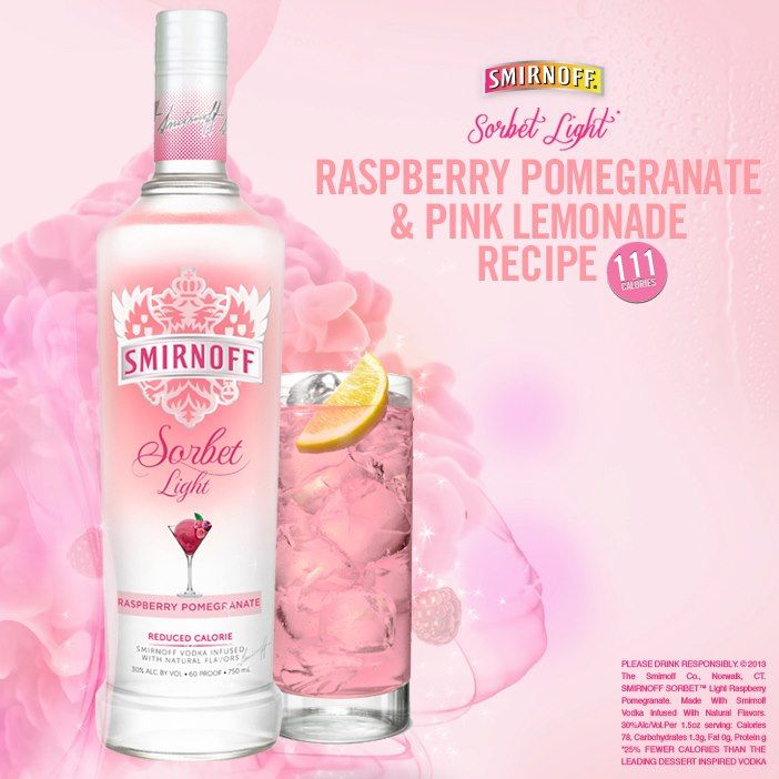 Best 25 smirnoff ideas on pinterest mix drinks with for Light cocktails with vodka
